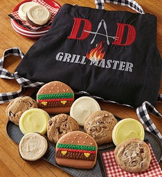 Grill Master Cookies and Apron