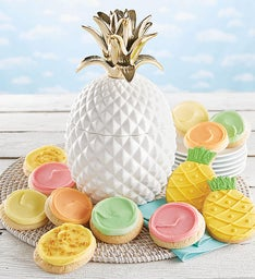 Collector's Edition Pineapple Cookie Jar