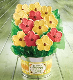 Have a Sunny Day Cookie Flower Pot