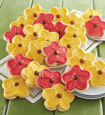 100 Frosted Sunflower Cuts