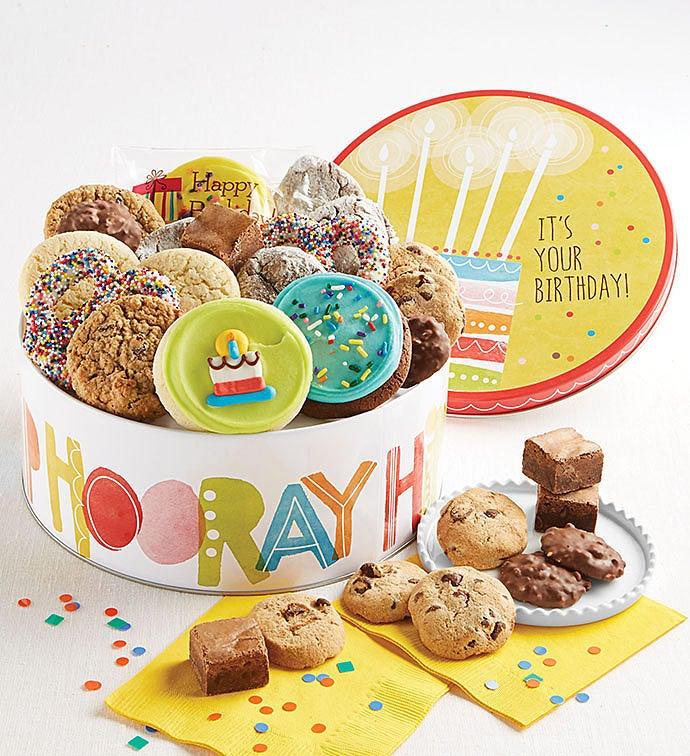 Birthday Gift Tin - Treats