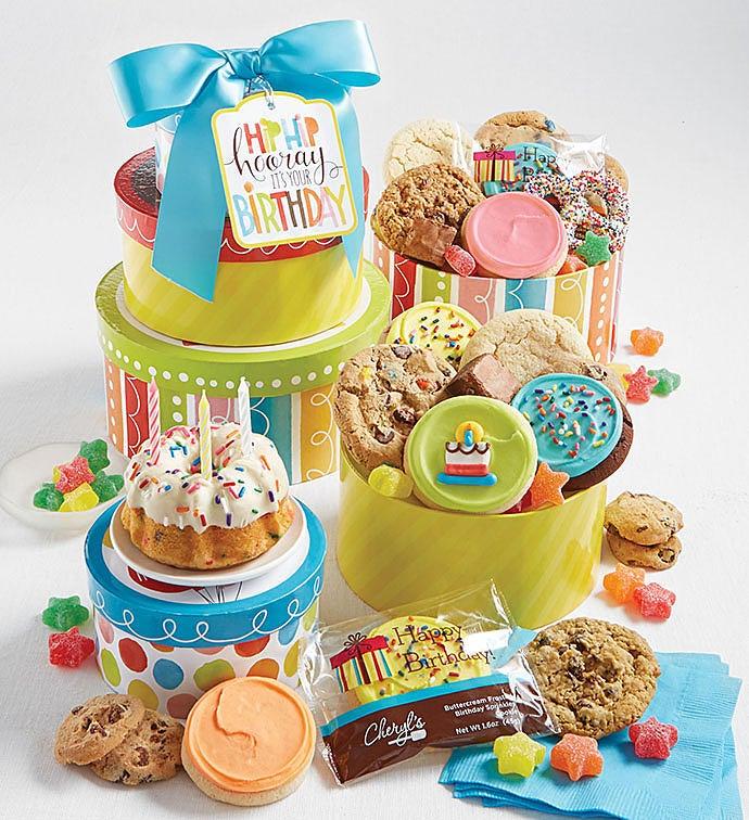 Birthday Gift Tower