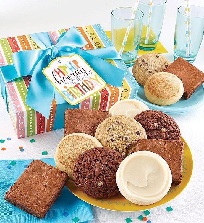 12 Gluten Free Birthday Cookie/Brownie