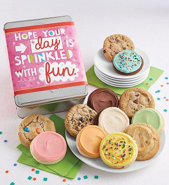 Hope Your Day Is Sprinkled With Fun Gift Tin Cyo - 12Ct by Cheryl's