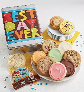 Best Day Ever Gift Tin Cyo - 12Ct by Cheryl's