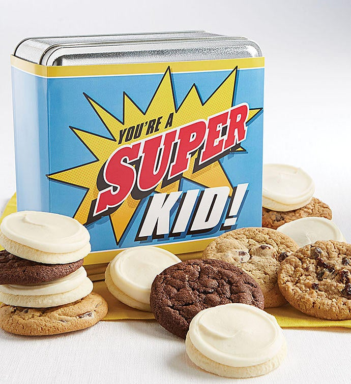 You are a Super Kid Gift Tin | Cheryl\'s Cookies