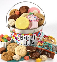 Birthdaylicious Treats Pail