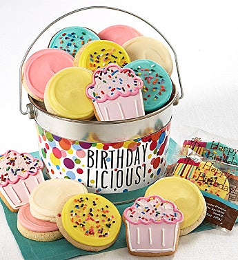 Birthdaylicious Cookie Pail