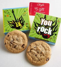 You Rock Cookie Card Case
