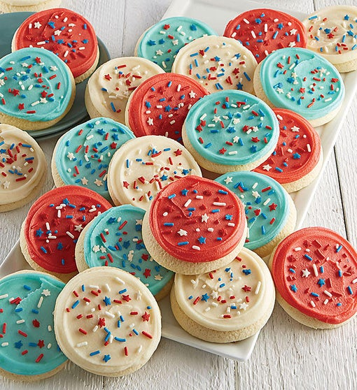 Buttercream Frosted American Classic Cut-out Cookies