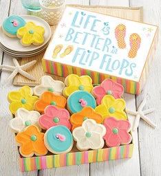 Flip Flop Gift Box  Cut-outs