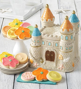Collector's Edition Sandcastle Cookie Jar