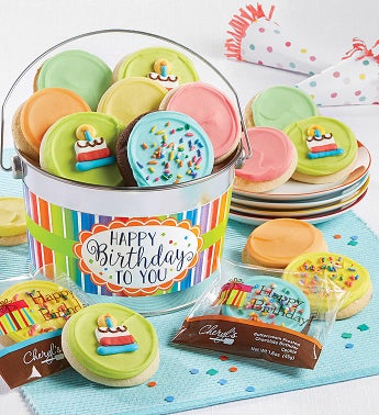 Birthday Cookie Pail