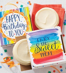 Gluten Free Birthday Cookie Card