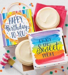 Sugar Free Birthday Cookie Card SnipeImage