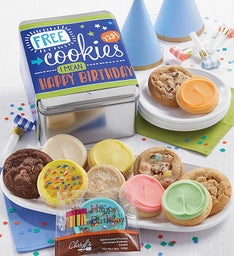 FREE COOKIES - I Mean It39s Your Birthday Gift Tin