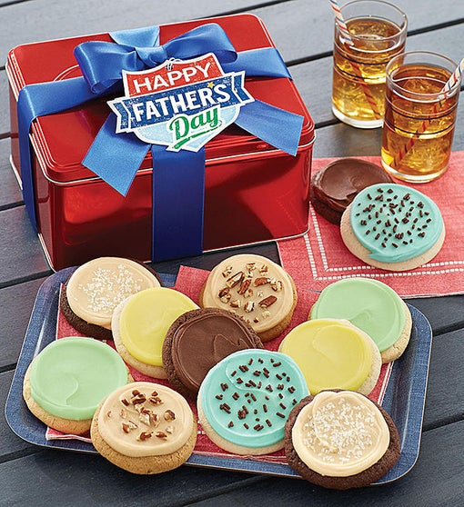 Father's Day Gift Tin - Frosted