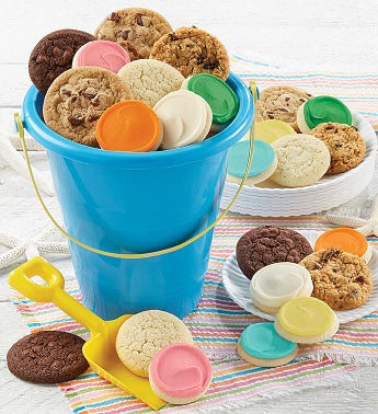 Beach Pail and Cookies