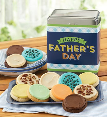 Fathers Day Gift Tin Frosted Assortment