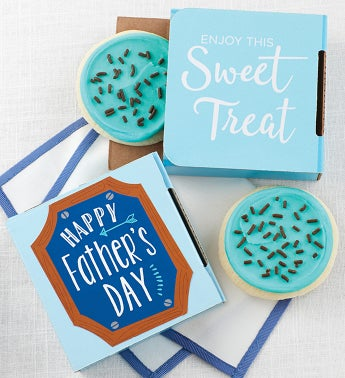 Happy Fathers Day Cookie Card