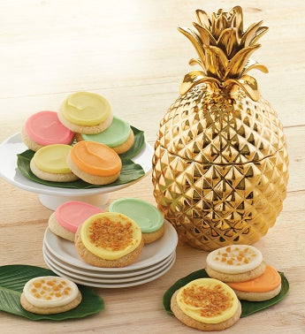 Collectors Edition Pineapple Cookie Jar