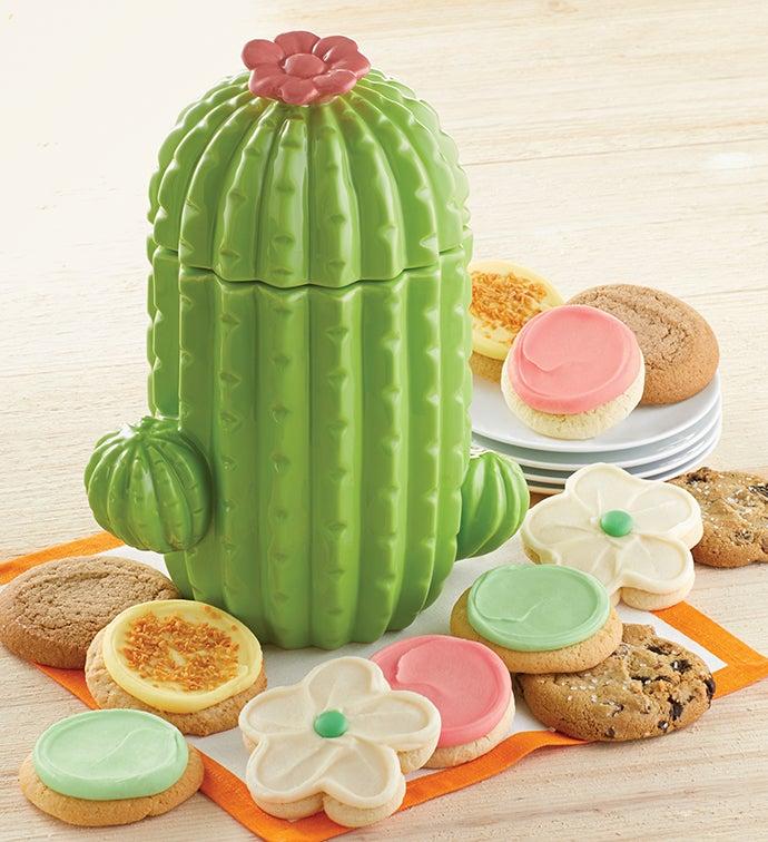 Collectors Edition Cactus Cookie Jar