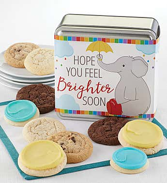 Feel Brighter Soon Gift Tin