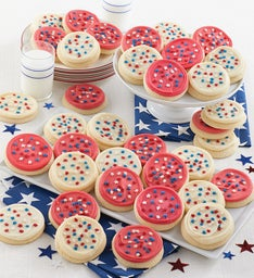 Buttercream Frosted Patriotic Cutouts