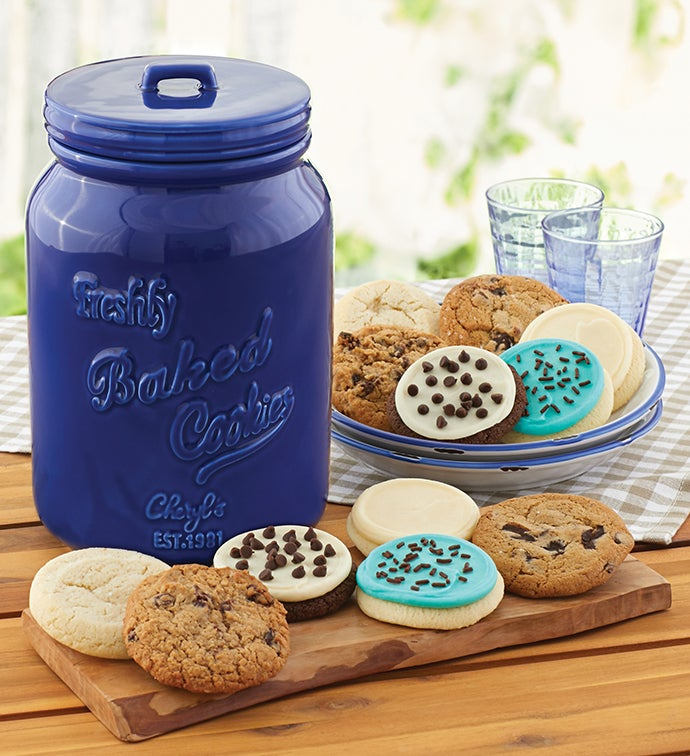 Collectors Edition Cookie Jar and  Month Refill