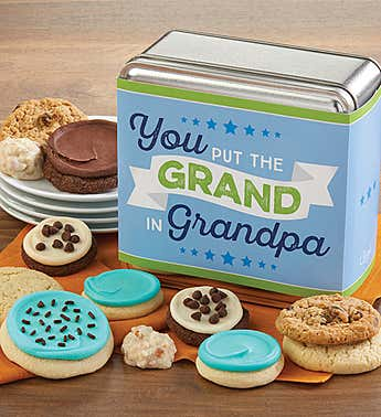 You Put the Grand in Grandpa Mini Gift Tin