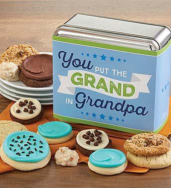 You Put the Grand in Grandpa Mini Gift Tin