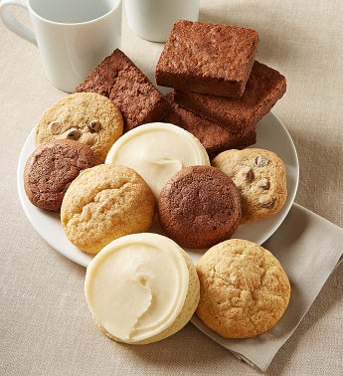 10 Gluten Free Cookies And 2 Brownies