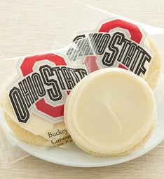 OSU FROSTED ROUND CUTOUT