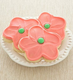PINK FLOWER CUT-OUT
