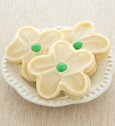 Buttercream Frosted Sunflower Cut-out