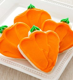 Buttercream Frosted Carrot Cut-out