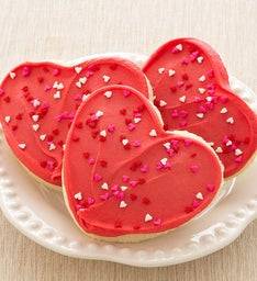 RED HEART CUT-OUT W/ SPRINKLES
