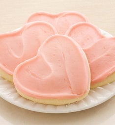 LIGHT PINK FROSTED HEART