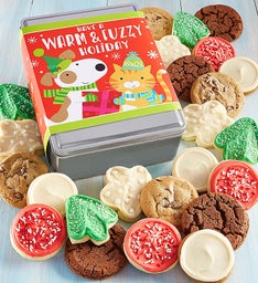 Create Your Own Warm & Fuzzy Holidy Tin