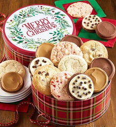 Merry Christmas Gift Tin Create Your Own Assortment