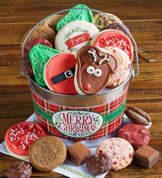 Merry Christmas Treats Pail