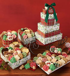 Holiday Sleigh Gift Tower