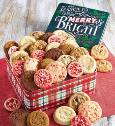 Merry & Bright Holiday Gift Tin