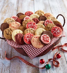 Holiday Cookie Basket