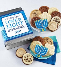 Love and Light Hanukkah Gift Tin
