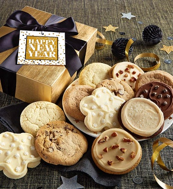 Happy New Year Cookie Gift Boxes 12Ct Box - by Cheryl's