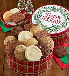 Gluten Free Happy Holiday Gift Tin