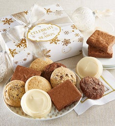 Gluten Free Celebrate the Season Cookie & Brownie Gift Boxes