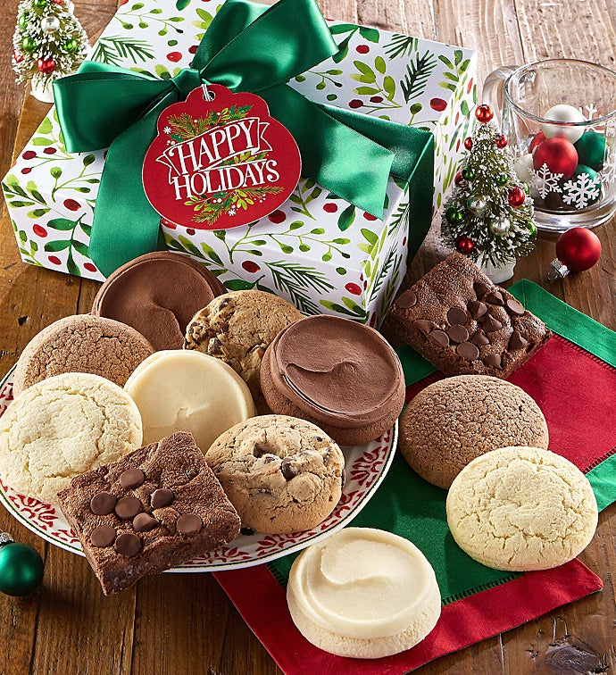 sc 1 st  Cherylu0027s Cookies & Sugar Free Happy Holiday Cookie u0026 Brownie Gift Boxes