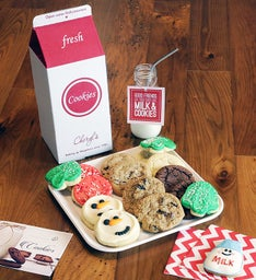 Great American Milk Drive Holiday Cookie Gift Box